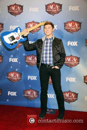 Scotty McCreery - 2013 American Country Awards Press Room held at Mandalay Bay Hotel & Casino in Las Vegas, NV...