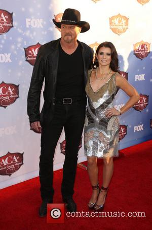 Trace Adkins and Danica Patrick - American Country Awards 2013 - Arrivals at Mandalay Bay Resort and Casino - Las...