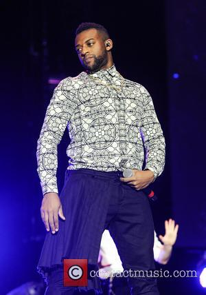 Oritse Williams - JLS performing live on stage at the LG Arena as part of their 'JLS Goodbye - The...