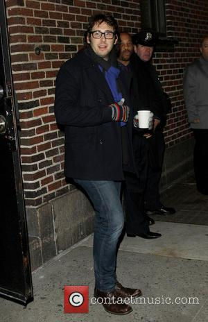 Josh Groban - Celebrities outside the Ed Sullivan Theater for the Late Show with David Letterman - New York, United...
