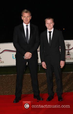 Gordon Ramsay and son Jack Scott Ramsay - The Sun Military Awards (Millies) 2013 held at the National Maritime Museum...