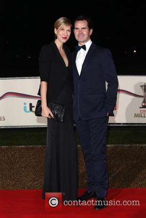 Jimmy Carr and Karoline Copping - The Sun Military Awards (Millies) 2013 held at the National Maritime Museum - Arrivals...