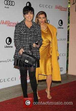 Kris Jenner and Kim Kardashian - The Hollywood Reporter's Women In Entertainment Breakfast Honoring Oprah Winfrey At Beverly Hills Hotel...