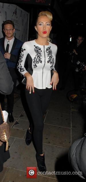 Aisleyne Horgan-Wallace - Celebrities attend Aspire Drinks Launch Party at Sanctum Soho Hotel - London, United Kingdom - Thursday 12th...