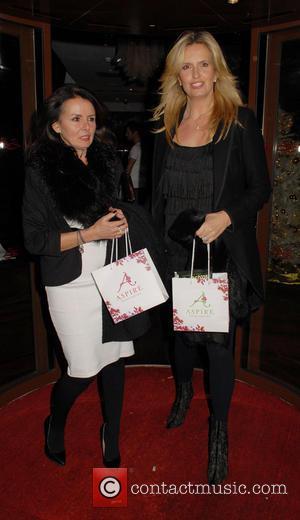Penny Lancaster Stewart - Celebrities attend Aspire Drinks Launch Party at Sanctum Soho Hotel - London, United Kingdom - Thursday...