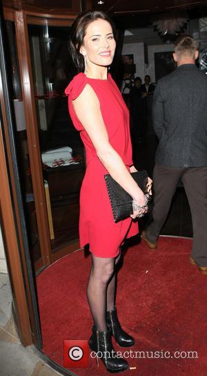Sophie Anderton - Celebrities arriving the Sanctum Hotel - London, United Kingdom - Thursday 12th December 2013