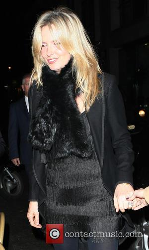 Penny Lancaster - Penny Lancaster arriving at the Sanctum Hotel for Aspire Drink Launch Party - London, United Kingdom -...