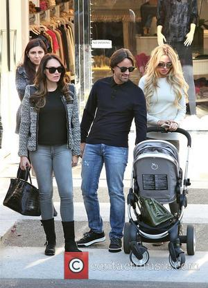 Petra Ecclestone, Tamara Ecclestone and Jay Rutland - Petra Ecclestone and her duaghter, Lavinia, spend time out and about in...