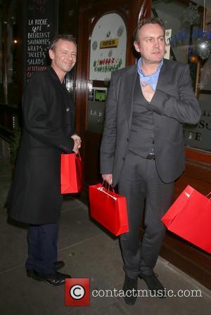 John Simm and Philip Glenister