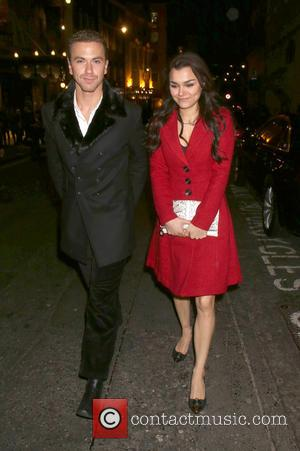 Samantha Barks and Richard Fleeshman - The Nutcracker held at the London Coliseum - Departues - London, United Kingdom -...