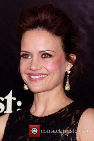 Carla Gugino - The New York premiere of August: Osage County held at the Ziegfeld Theatre - Arrivals. - New...