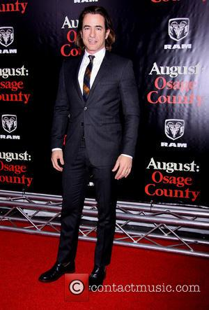 Dermot Mulroney - The New York premiere of August: Osage County held at the Ziegfeld Theatre - Arrivals. - New...