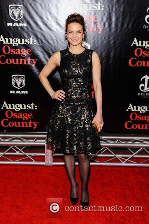Carla Gugino - Premiere of 'August: Osage County' held at The Ziegfeld Theater - Arrivals - New York City, New...