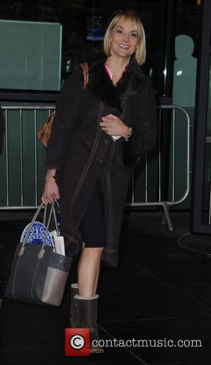 Louise Minchin - Celebrities at MediaCityUK - Manchester, United Kingdom - Thursday 12th December 2013