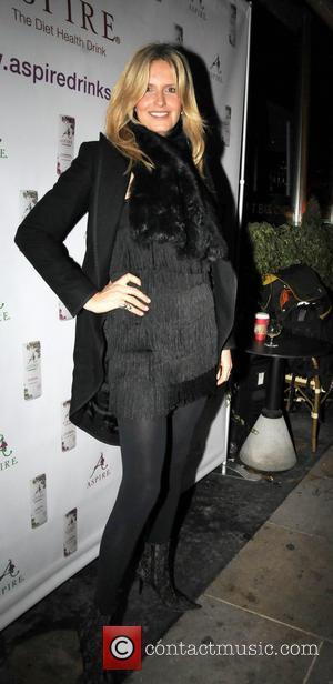 Penny Lancaster - Celebrities arriving the Sanctum Hotel - London, United Kingdom - Thursday 12th December 2013