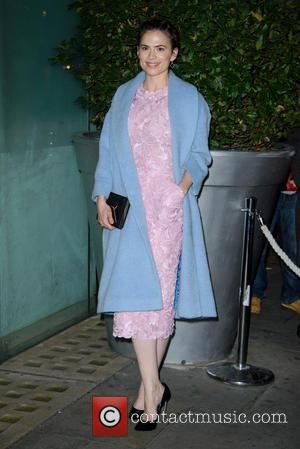 Hayley Atwell - English National Ballet Annual Christmas Season Celebrity Party - Arrivals - London, United Kingdom - Thursday 12th...