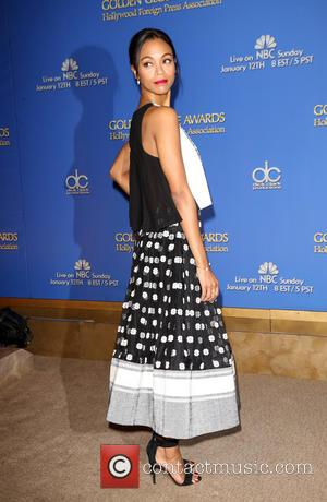 Zoe Saldana - 71st Annual Golden Globe Awards Nominations Announcement At Beverly Hilton Hotel - Beverly Hills, California, United States...
