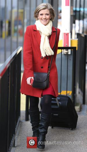 Jane Danson - Jane Danson outside the itv studios - London, United Kingdom - Thursday 12th December 2013