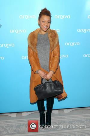 Gemma Cairney - Hotel - Arrivals - London, United Kingdom - Thursday 12th December 2013