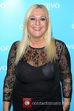 Vanessa Feltz - Hotel - Arrivals - London, United Kingdom - Thursday 12th December 2013
