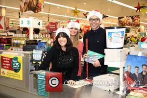 Anna Richardson, Emily Atack and Andy Jordan