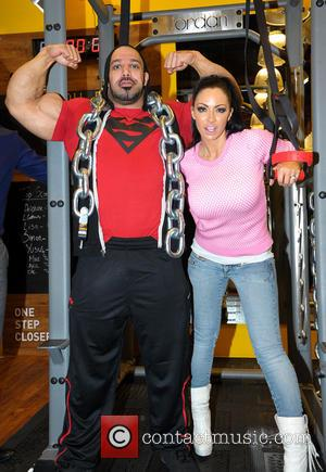 Jodie Marsh and Zak Khan
