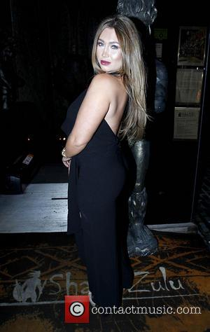 Lauren Goodger - Lauren Goodger throws a Christmas party for her 'Lauren's Way' staff at Shaka Zulu - London, United...