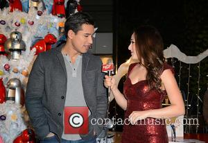 Mario Lopez and Danielle Robay