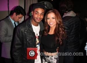 King Bach and Kayla Collins