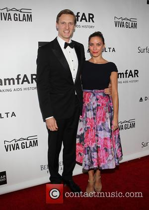 Teddy Sears and Milissa Skoro - 2013 amfAR Inspiration Gala Los Angeles Presented By MAC Viva Glam At Milk Studios...