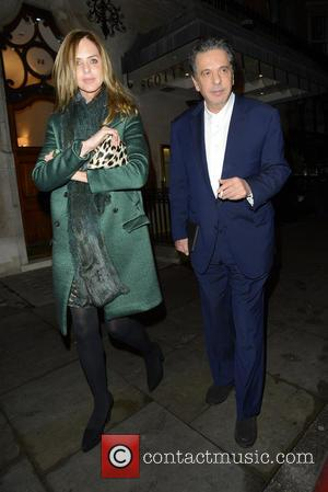 charles saatchi and trinny woodall - charles saatchi and trinny woodall at scotts - London, United Kingdom - Friday 13th...