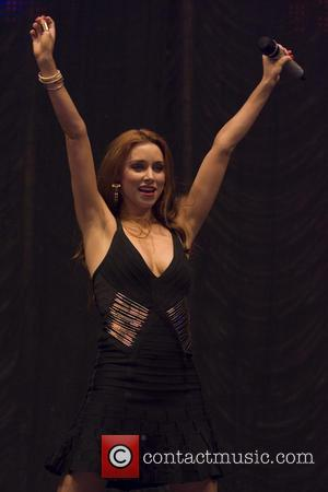 Una Foden and The Saturdays - Clyde 1 Live 2013 held at SSE Hydro - Performances - Glasgow, United Kingdom...