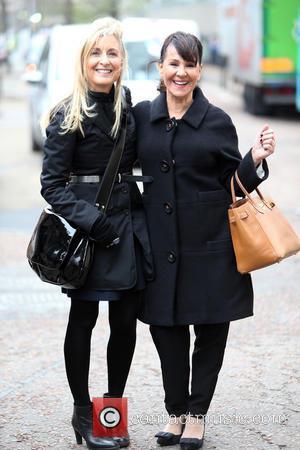 Fiona Phillips and Arlene phillips