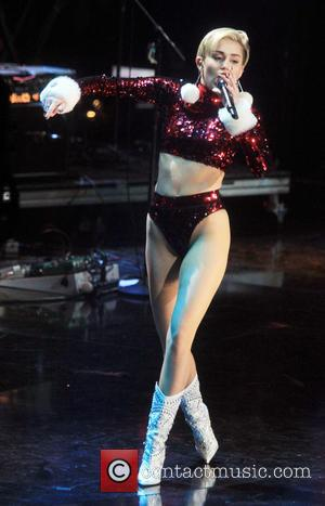 Miley Cyrus - Z100's Jingle Ball 2013 at Madison Square Garden - Concert - New York City, New York, United...
