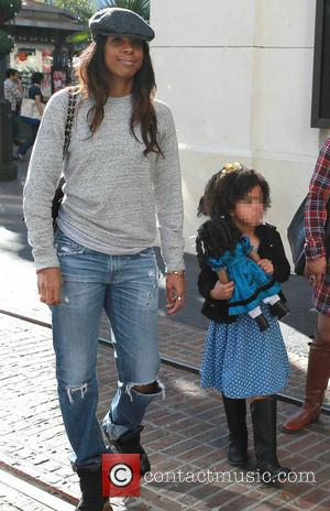 Kelly Rowland - Kelly Rowland leaves the American Girl store at The Grove after buying a doll for her niece...