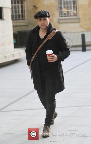Antony Costa - Anthony Costa arriving at the BBC Radio 1 studios - London, United Kingdom - Saturday 14th December...