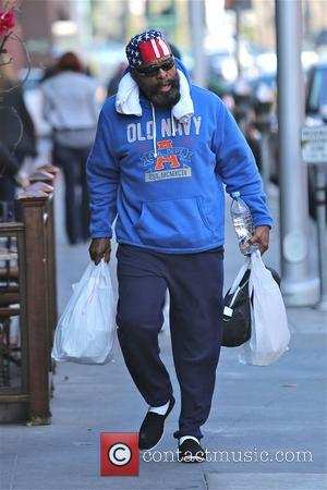 Mr. T and Laurence Tureaud - Mr. T heads to the gym for his daily workout in Beverly Hills -...
