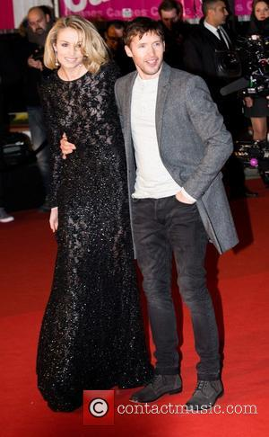 James Blunt and Sofia Wellesley - The 15th NRJ Music Awards held at Palais des Festivals - Arrivals - Cannes,...