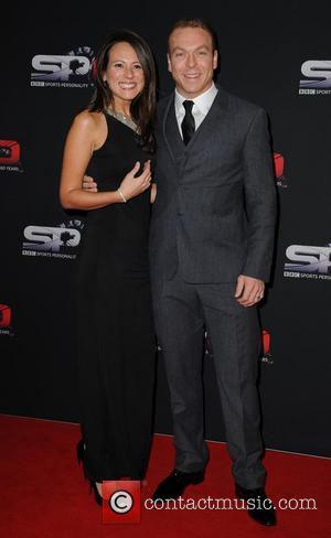 Sir Chris Hoy and Sarra Kemp - BBC Sports Personality Of The Year 2013 held at the First Direct Arena...