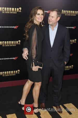 Brooke Shields and Chris Henchy - New York premiere of 'Anchorman 2: The Legend Continues' at Beacon Theatre - Arrivals...