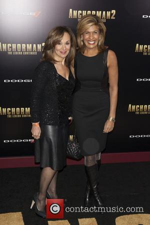 Rosanna Scotto and Hoda Kotb - New York premiere of 'Anchorman 2: The Legend Continues' at Beacon Theatre - Arrivals...