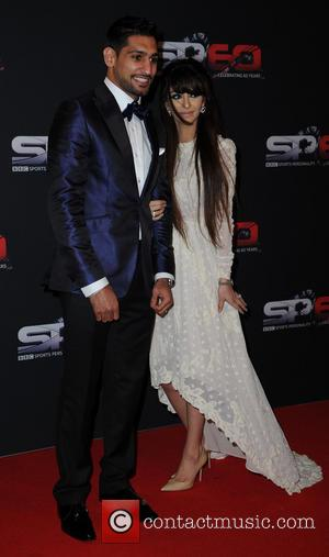 Amir Khan and Faryal Makhdoom - BBC Sports Personality Of The Year 2013 held at the First Direct Arena -...