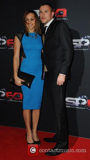 Jessica Ennis-Hill and Andy Hill - BBC Sports Personality Of The Year 2013 held at the First Direct Arena -...