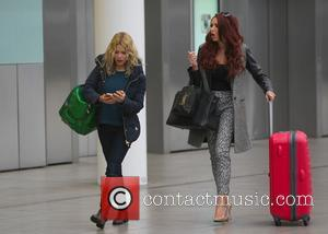 Amy Childs and Melina Messenger