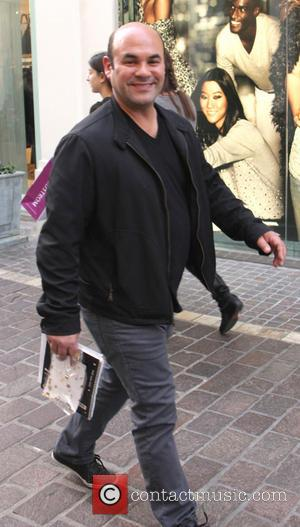 Ian Gomez - Ian Gomez christmas shopping at The Grove in Hollywood - Los Angeles, California, United States - Monday...