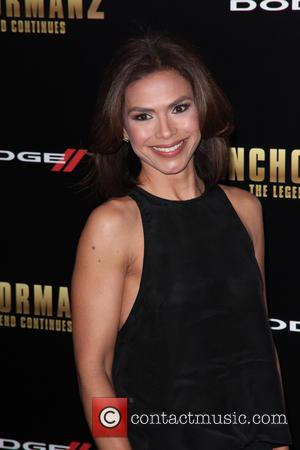 Kristnie Johnson - New York premiere of 'Anchorman 2: The Legend Continues' at Beacon Theatre  - Arrivals - New...