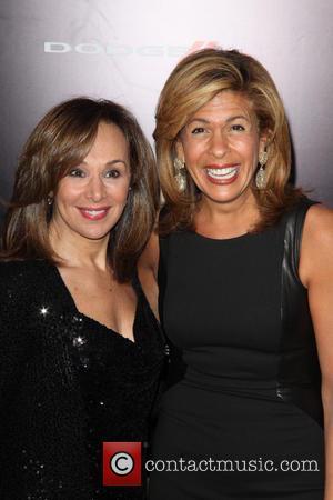 Rosanna Scotto and Hoda Kotb - New York premiere of 'Anchorman 2: The Legend Continues' at Beacon Theatre  -...