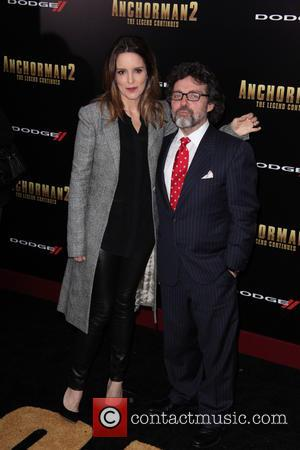 Tina Fey and Chris Henchy - New York premiere of 'Anchorman 2: The Legend Continues' at Beacon Theatre  -...