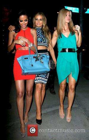 Lilly Ghalichi, Carmen Electra and Joanna Krupa