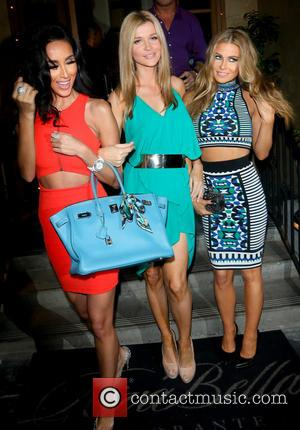 Lilly Ghalichi, Joanna Krupa and Carmen Electra